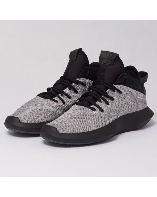detailed look ef211 51a3f Adidas Originals - Black Crazy 1 Adv Primeknit Trainers for Men - Lyst ...