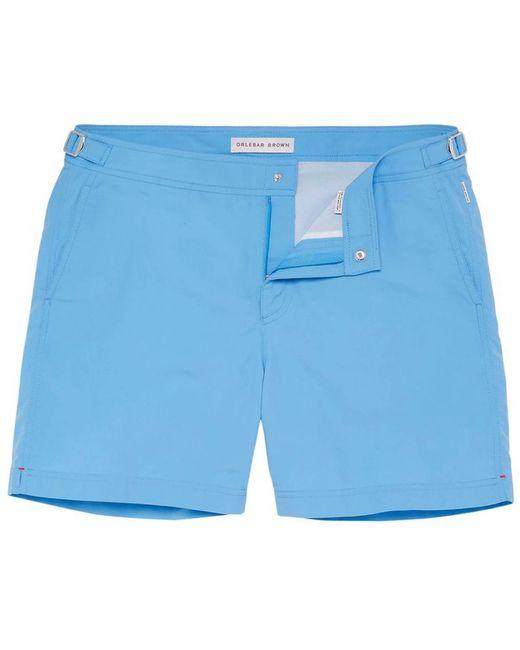 Orlebar Brown - Blue Bulldog Mid-length Swim Shorts for Men - Lyst