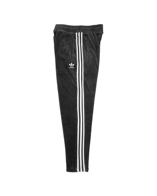e7584935 adidas Originals Cozy Track Pants - Black in Black for Men - Lyst