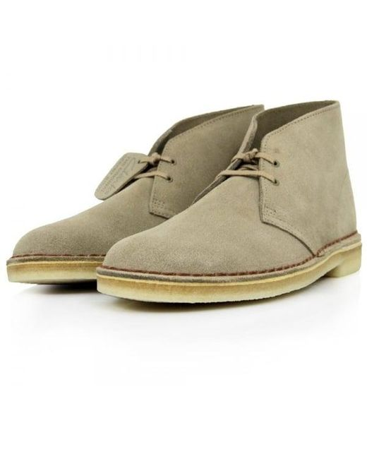 Clarks - Multicolor Clarks Original Sand Suede Desert Boot for Men - Lyst