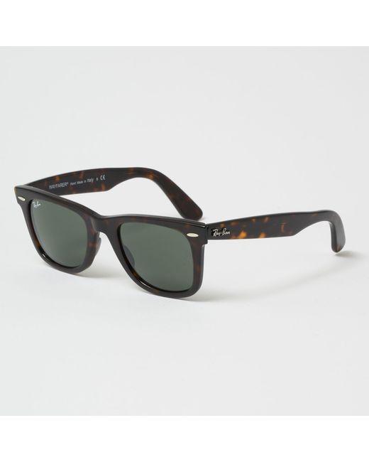 7ec5ef9fb3e Ray-Ban - Original Wayfarer Classic Sunglasses - Green Classic G-15 Lenses  for ...