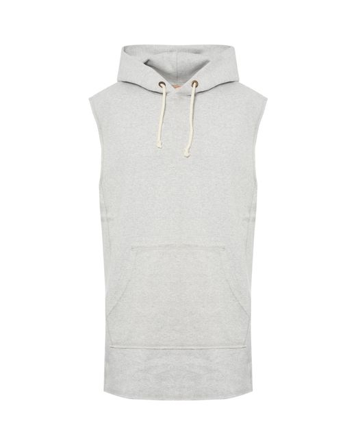 ab8308267bf3 Champion - Multicolor Sleeveless Script Logo Hoodie for Men - Lyst ...