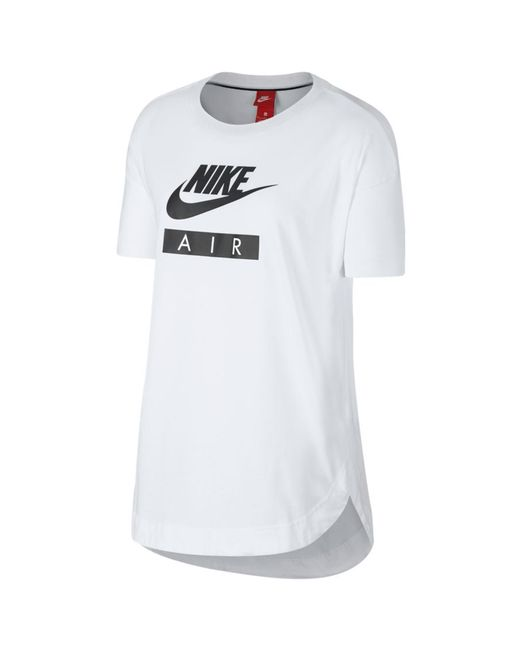 Nike - White Air Logo T-shirt - Lyst