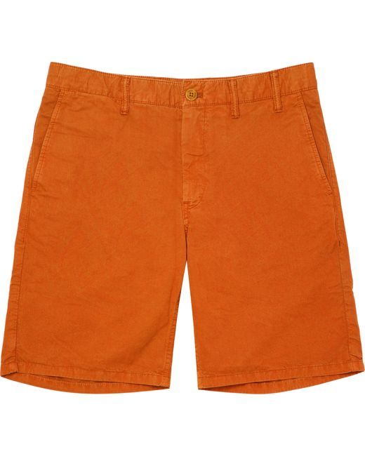 Norse Projects - Orange Aros Light Twill Shorts for Men - Lyst