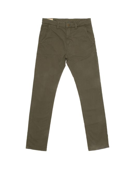 Nudie Jeans - Olive Green Chinos for Men - Lyst