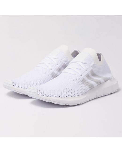 ... new style cea40 ed8d0 Adidas Originals - White Swift Run Pk for Men -  Lyst . ... ed4a0a112