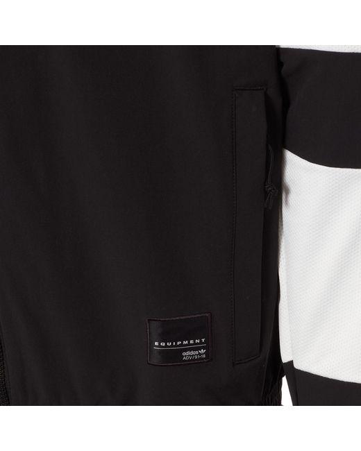 adidas Originals Synthetic Eqt Bold 2.0 Track Jacket Black