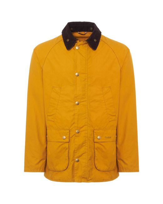 Barbour - Cinder Yellow Washed Bedale for Men - Lyst