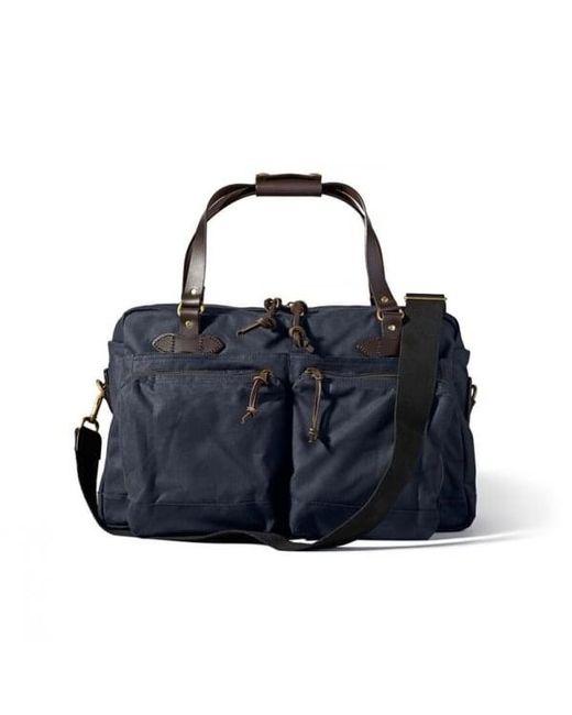 b72cb38a3f Filson - Blue 48 Hour Tin Cloth Duffle Bag for Men - Lyst ...