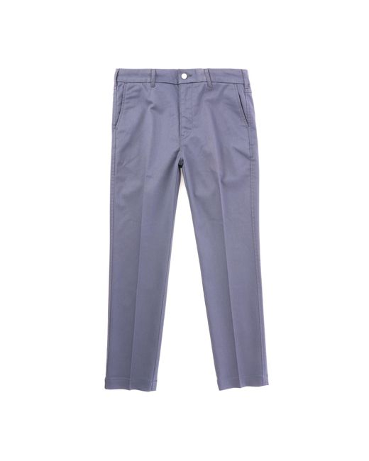 Levi's - 502 Regular Taper Sta-prest Chinos - Ombre Blue for Men - Lyst