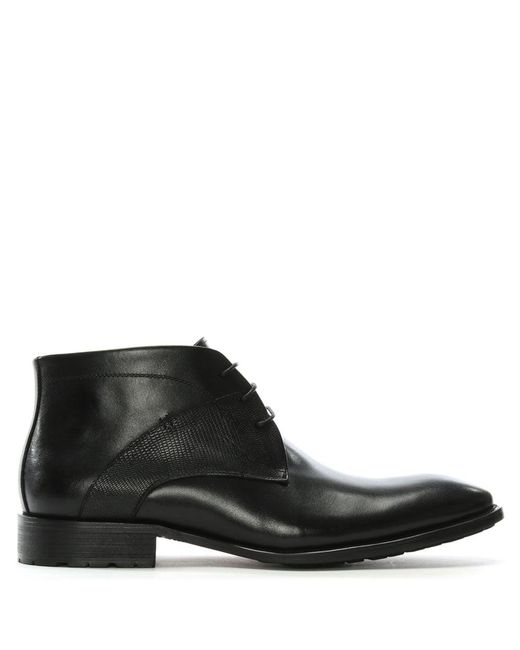 Daniel - Yarcombe Black Leather Ankle Boots for Men - Lyst