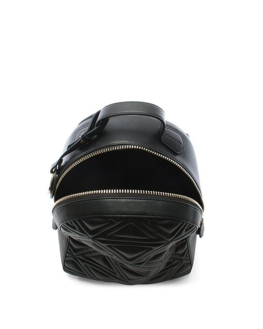 ... Emporio Armani - Zaino Quilted Black Backpack - Lyst ... f0400190582