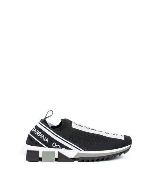Dolce & Gabbana Black Sorrento Sneakers for men