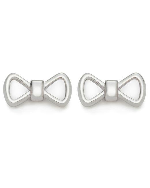 Ted Baker   Metallic Alie: Peek A Bow Stud Earring   Lyst