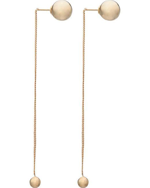 Vita Fede | Metallic O'hara Two-tone Drop Earrings | Lyst