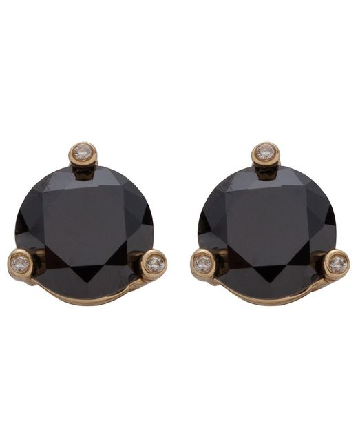 Kate Spade | Black Small Studs | Lyst