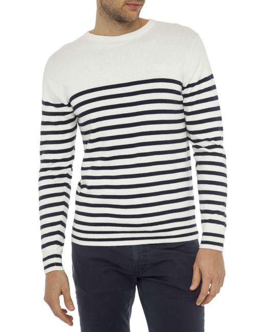 Gant | Multicolor Breton Crew Knitwear for Men | Lyst