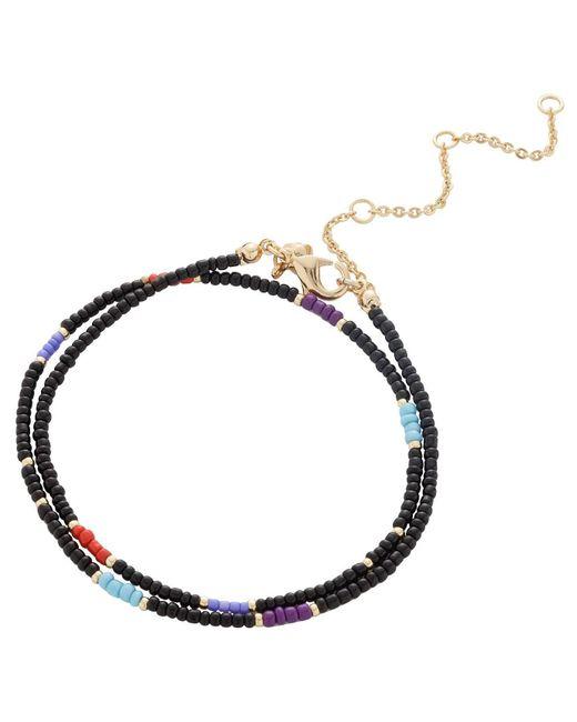 Rebecca Minkoff | Metallic Seed Bead Choker Necklace | Lyst