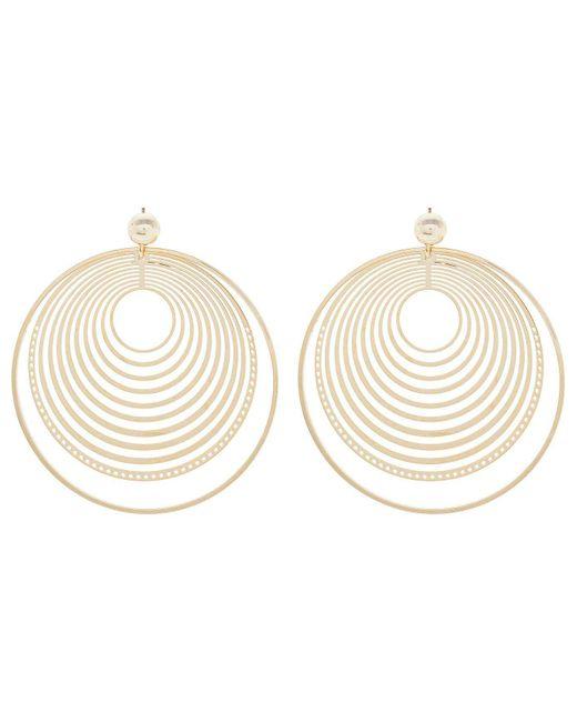 David Jones | Metallic Multi Circle Cut Out Earring | Lyst