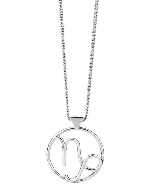 Karen Walker | Metallic Capricorn Necklace | Lyst