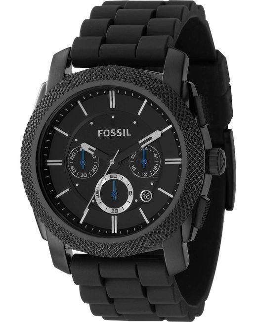 Fossil | Black Machine Watch | Lyst