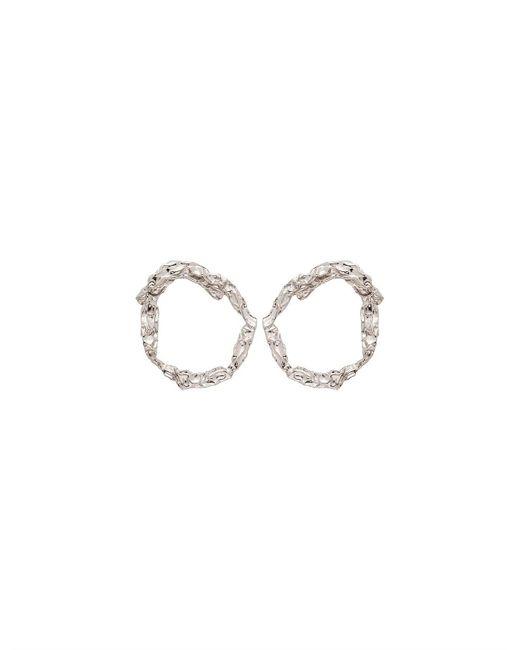 Chloé Metallic Anouck Earrings