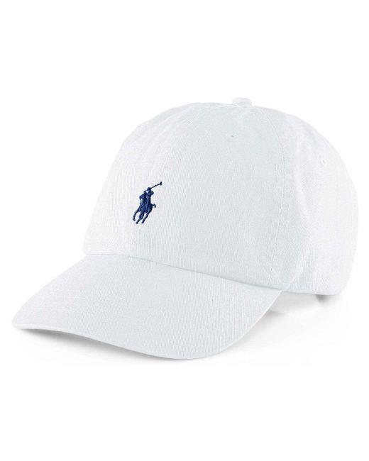 Polo Ralph Lauren | White Polo Chino Baseball Cap for Men | Lyst