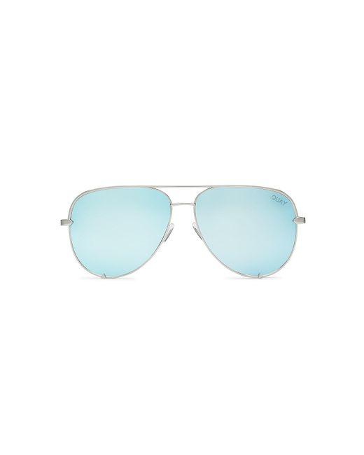 Quay - Blue High Key Sunglasses - Lyst