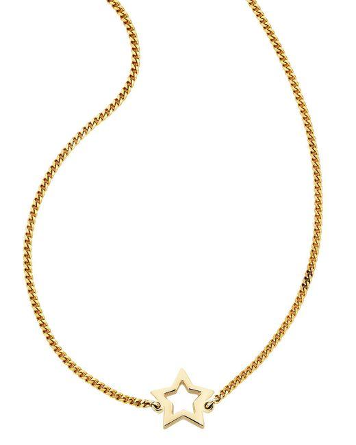 Karen Walker - Metallic Mini Star Necklace - Lyst