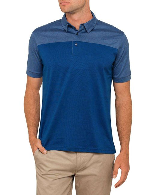 David Jones | Blue Ombre Self Stripe for Men | Lyst