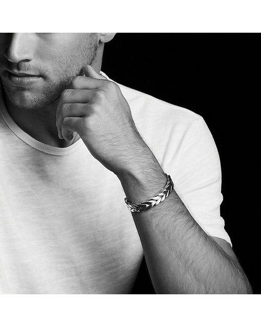 David Yurman - Metallic Chevron Cuff for Men - Lyst