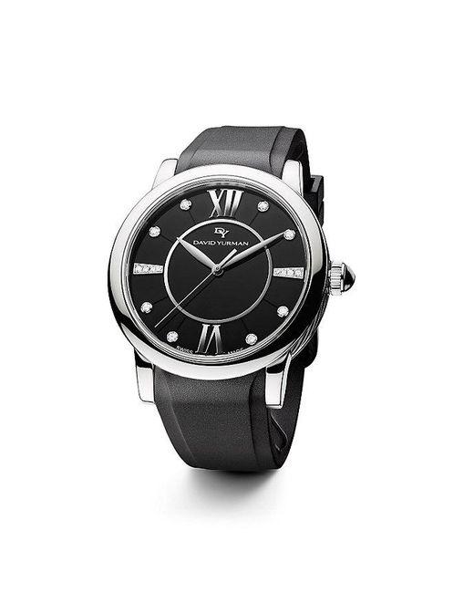 David Yurman | Metallic Classic 38mm Rubber Swiss Quartz Watch for Men | Lyst