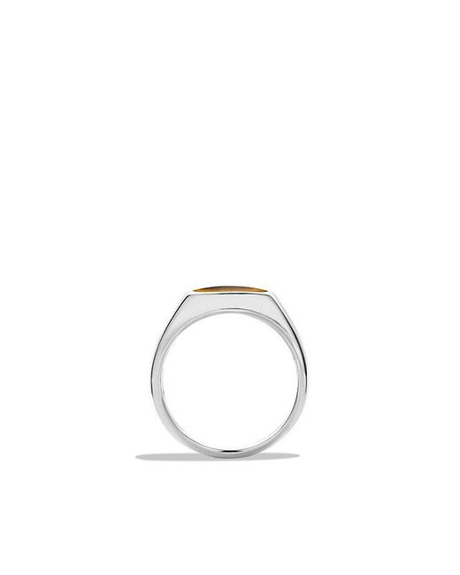 David Yurman | Brown Exotic Stone Signet Ring With Tiger's Eye for Men | Lyst