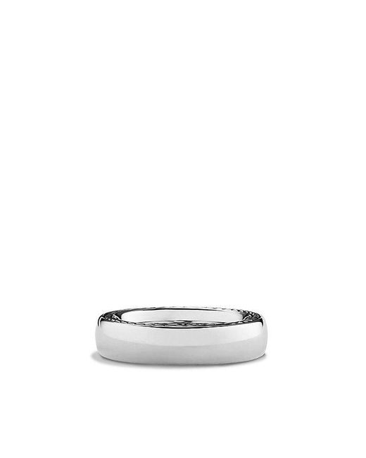 David Yurman - Metallic Streamline Narrow Band Ring for Men - Lyst
