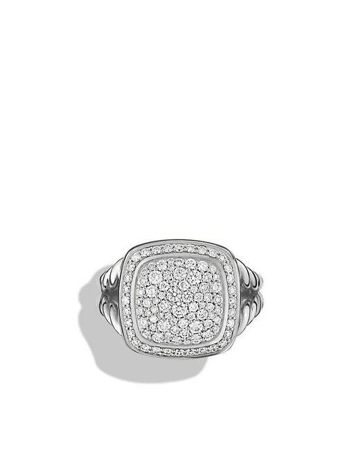 David Yurman - Metallic Albion® Ring With Diamonds, 11mm - Lyst