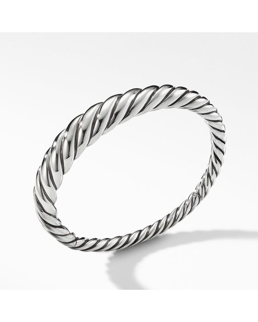 David Yurman - Metallic Pure Form Cable Bangle - Lyst