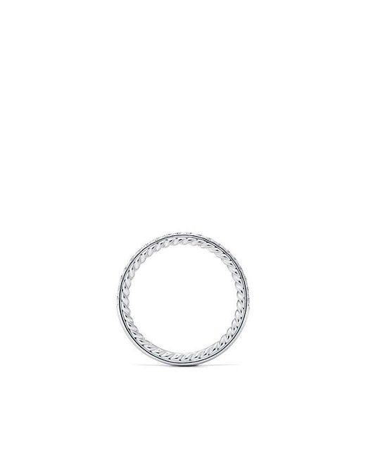 David Yurman - Multicolor Dy Eden Eternity Wedding Band With Diamonds In Platinum, 1.85mm - Lyst