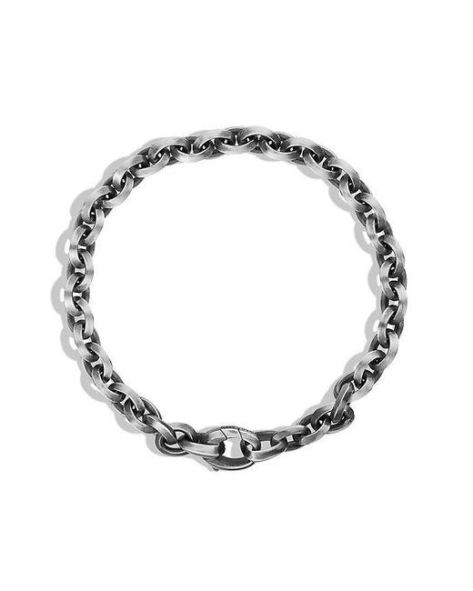 David Yurman - Metallic Knife Edge Link Chain Bracelet for Men - Lyst