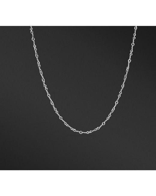 David Yurman - Black Continuance Cable Twist Chain Necklace for Men - Lyst