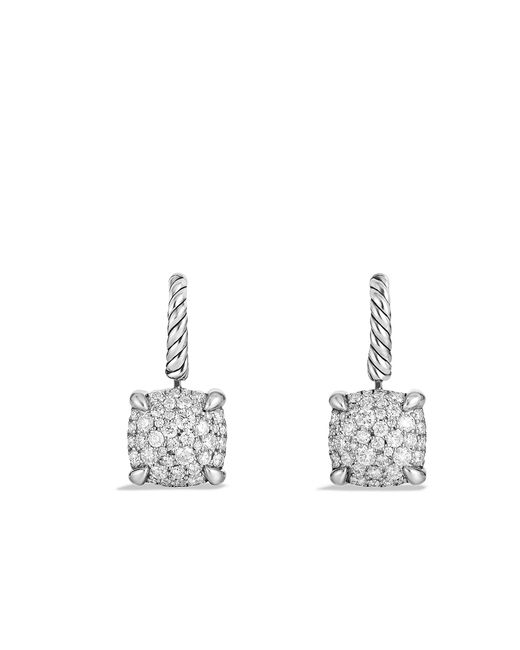 David Yurman - Metallic Châtelaine Drop Earrings With Diamonds - Lyst