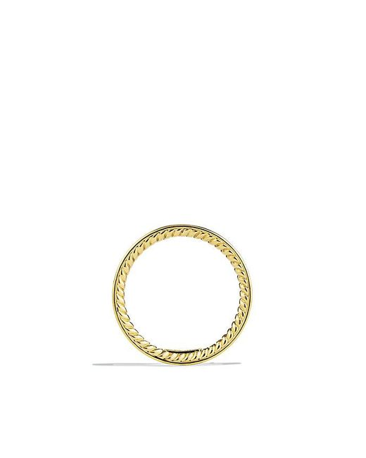 David Yurman | Metallic Dy Eden Eternity Wedding Band With Diamonds In 18k Gold, 2.3mm | Lyst