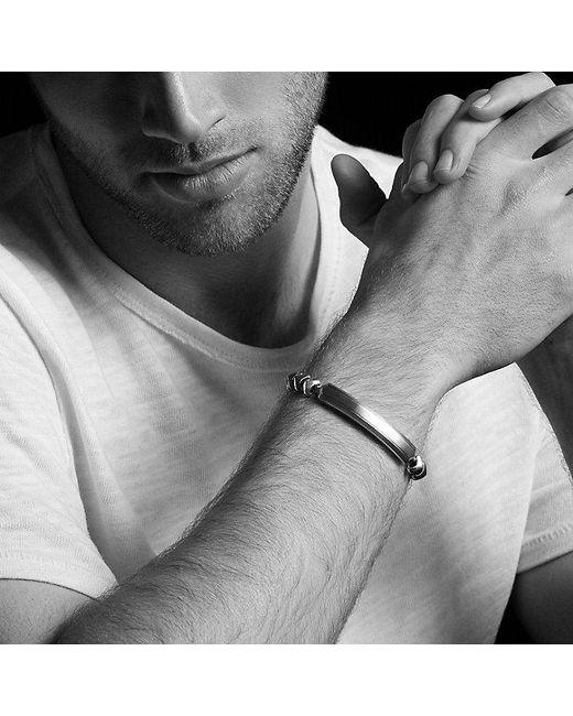 David Yurman | Metallic Armory Single Row Id Bracelet for Men | Lyst