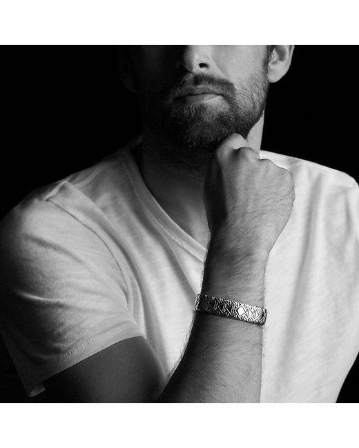 David Yurman   Metallic Frontier Cuff Bracelet for Men   Lyst