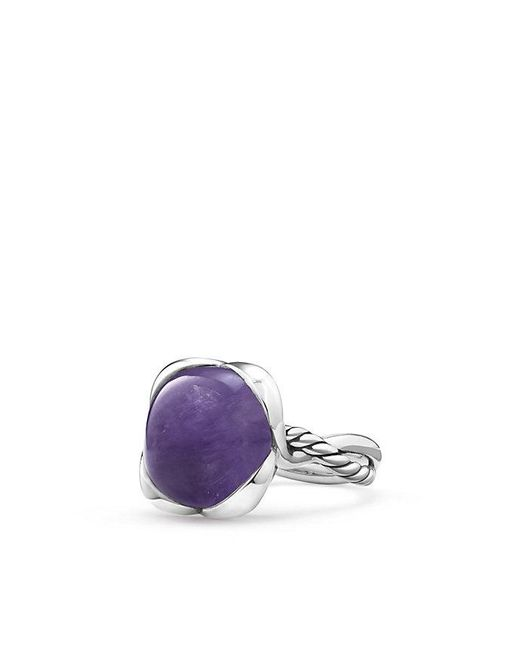 David Yurman | Multicolor Continuance® Ring With Milky Amethyst, 14mm | Lyst