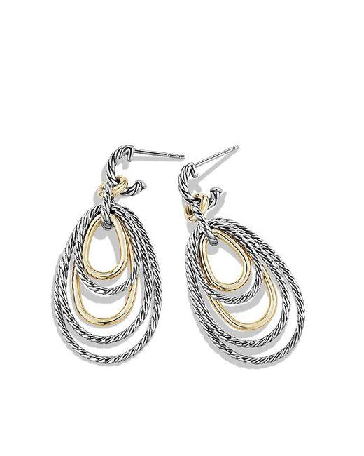 David Yurman | Metallic Mobile Drop Earrings With 14k Gold | Lyst