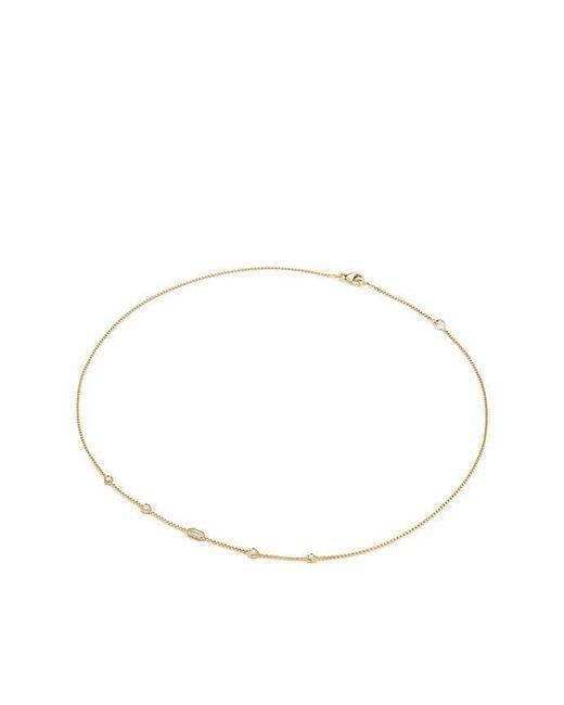 David Yurman - Metallic Novella Necklace With Diamonds - Lyst