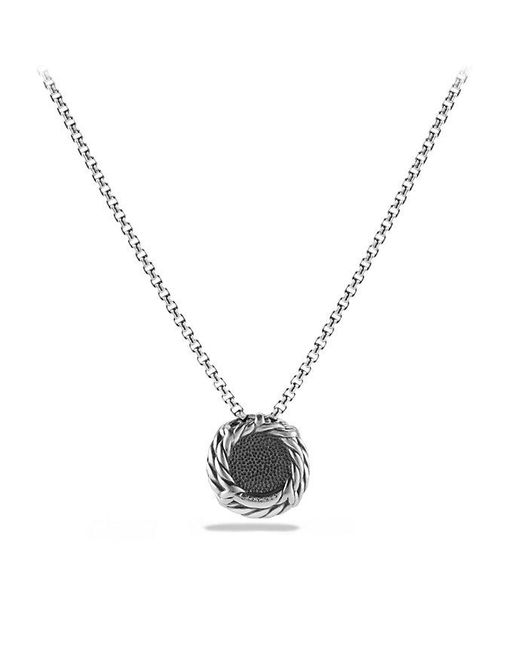 David Yurman | Châtelaine® Pendant Necklace With Black Onyx | Lyst