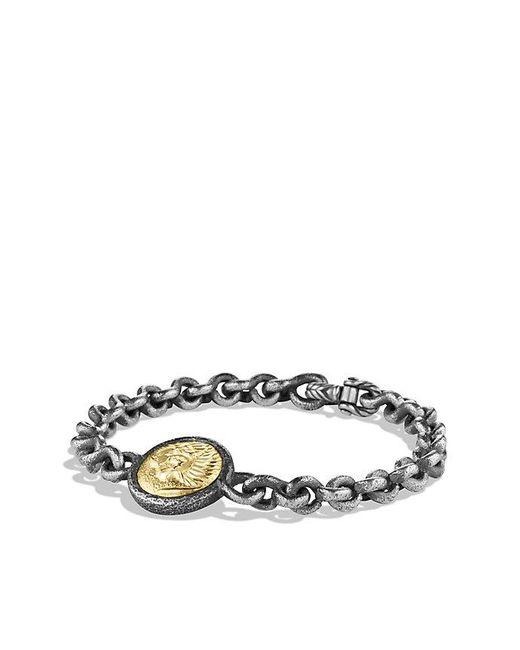 David Yurman | Metallic Petrvs Lion Bracelet With 18k Gold for Men | Lyst