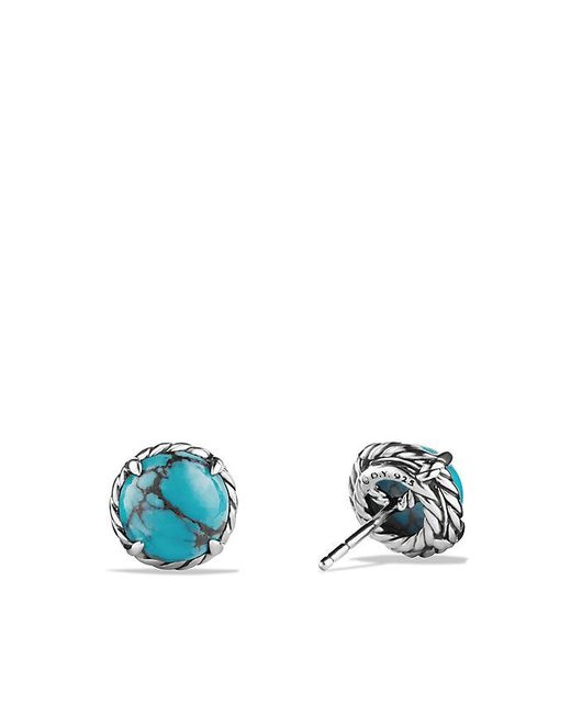 David Yurman | Blue Châtelaine® Earrings With Turquoise | Lyst