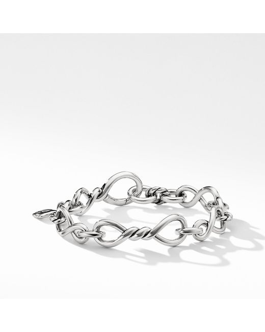 David Yurman - Metallic Continuance Medium Chain Bracelet - Lyst